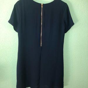 Dresses - NAVY DRESS! L